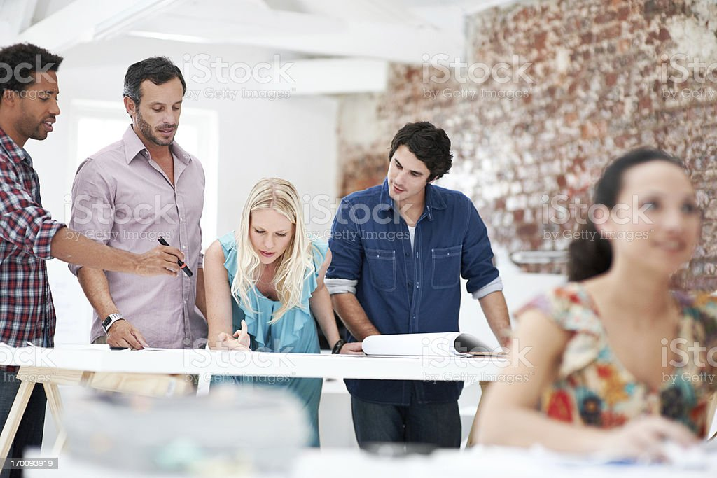 Aesthetic expertise royalty-free stock photo