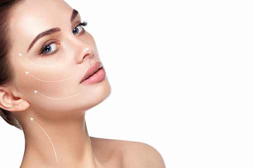 istock aesthetic facial skin care, cosmetology 985995228