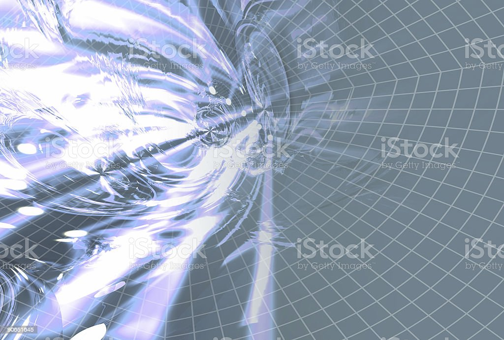 Aetherize 14 blue royalty-free stock photo