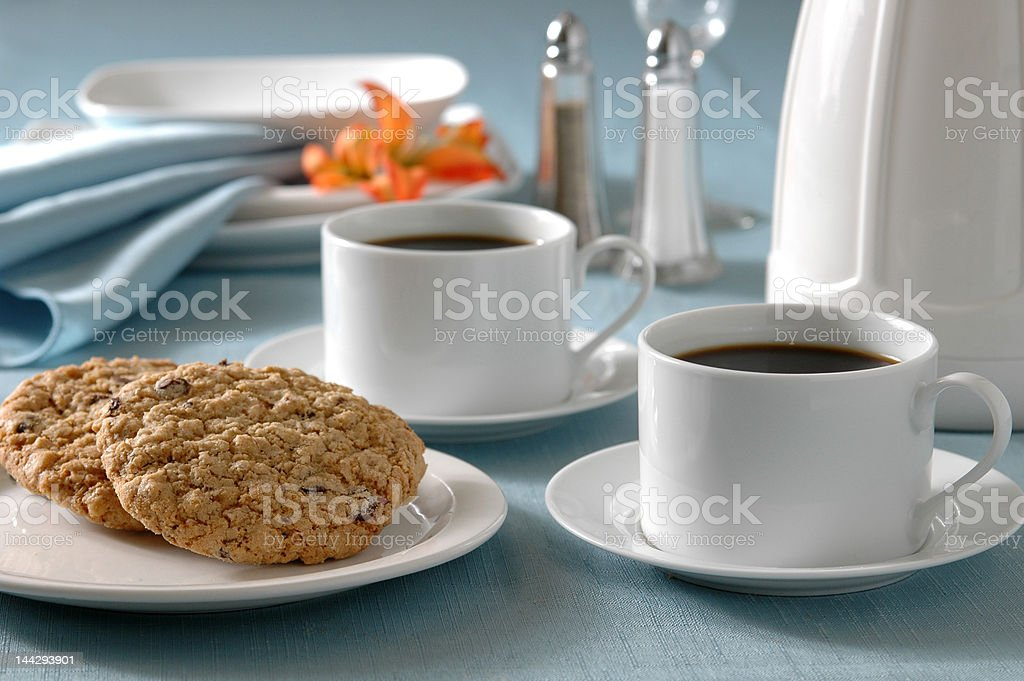 Afer Dinner Coffee royalty-free stock photo