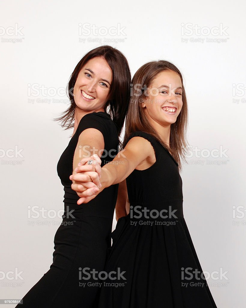 affection between mother and daughter royalty-free stock photo