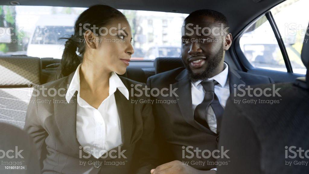 flirten im business