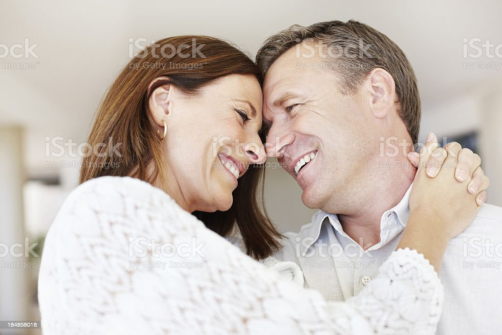 Affectionate moments royalty-free stock photo