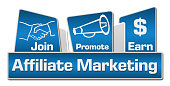 istock Affiliate Marketing Blue Rounded Squares 479374190