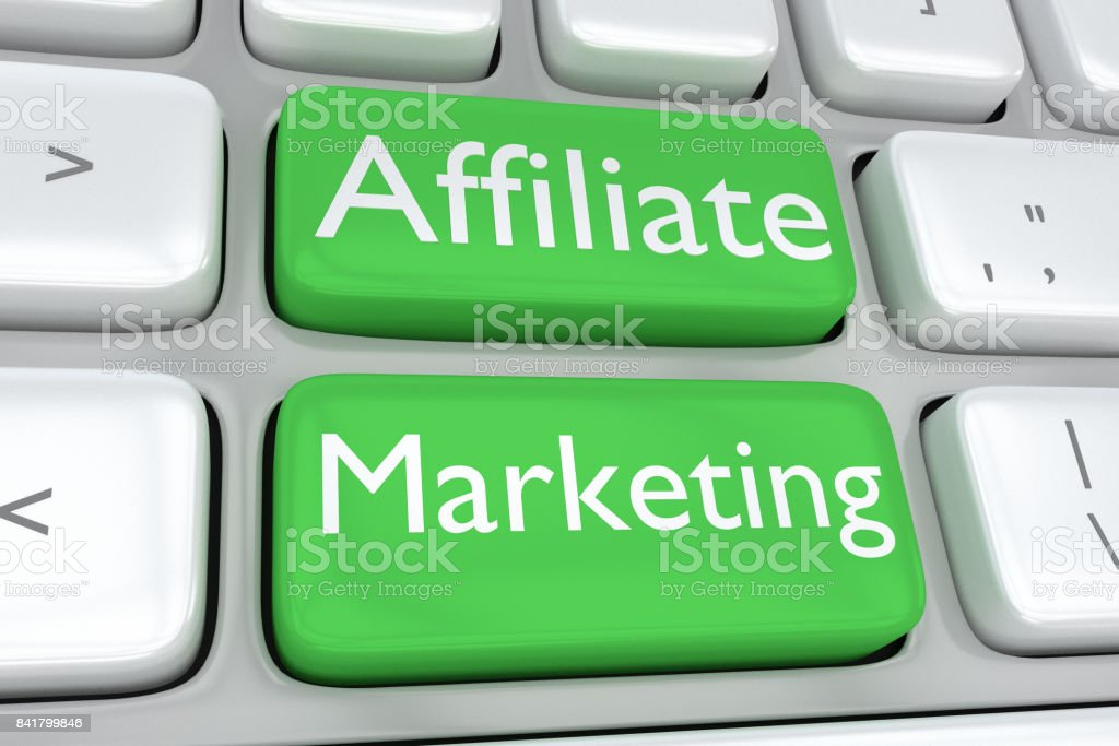 Affiliate Marketing concept stock photo