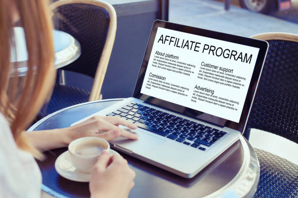 affiliate marketing affiliate marketing program concept affiliate stock pictures, royalty-free photos & images