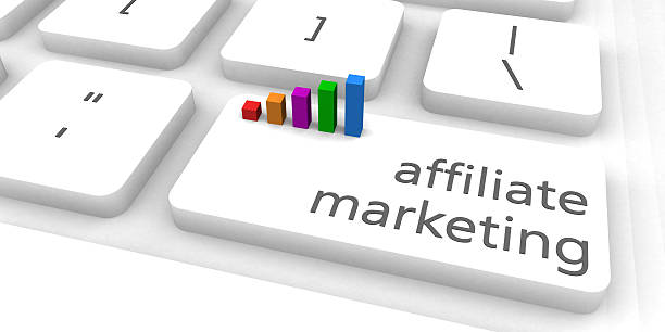 Affiliate Marketing Affiliate Marketing as a Fast and Easy Website Concept affiliate stock pictures, royalty-free photos & images