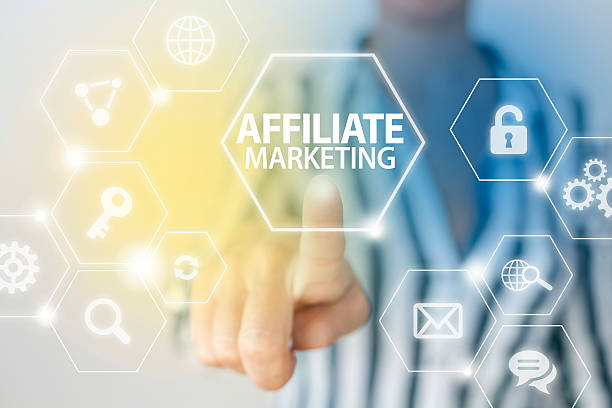Affiliate Marketing Affiliate marketing, affiliate program, business strategy, advertising, consumerism. affiliate stock pictures, royalty-free photos & images