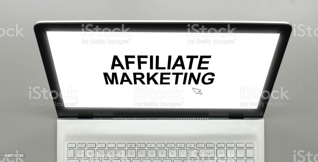 Affiliate Marketing stock photo