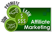 istock Affiliate Marketing Three Green Circles 646470400