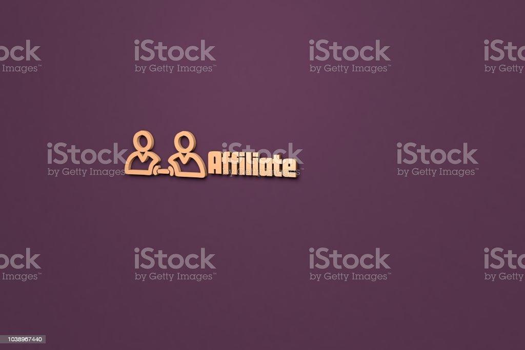 Affiliate stock photo