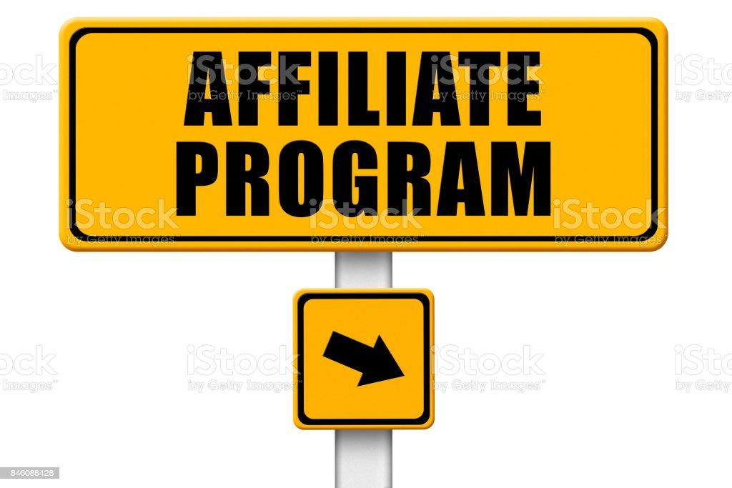 Affiliate Program. stock photo