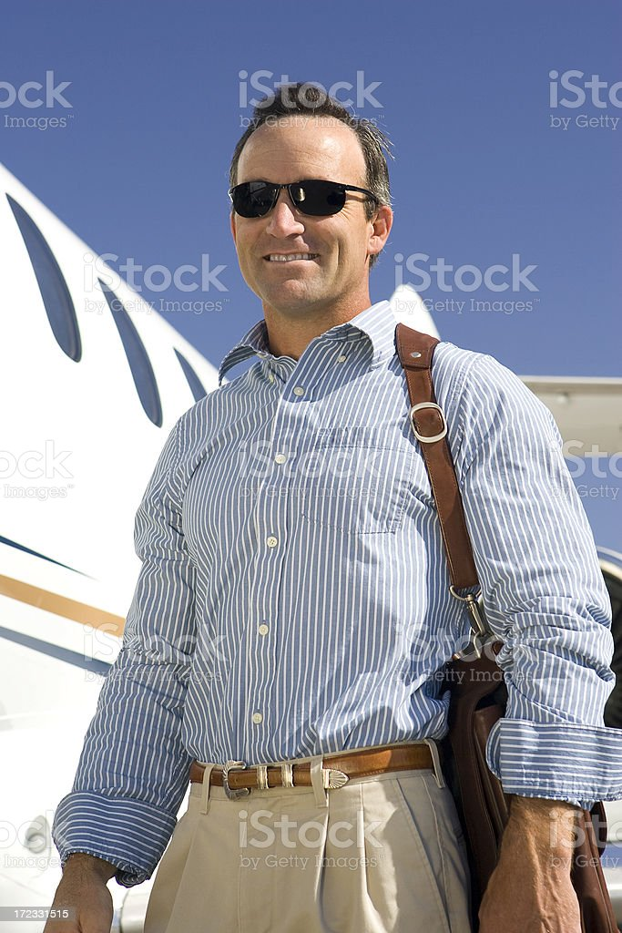 Affluent Travel-Business Travel stock photo
