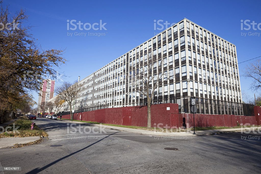 Affordable Apartments in Chicago Southwest Side royalty-free stock photo