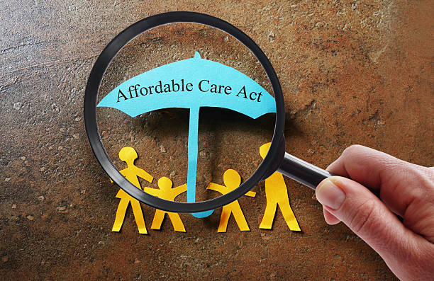 Affordable Care Act search stock photo