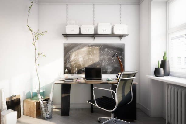 Affordable Home Office stock photo