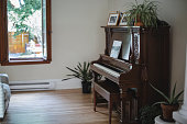home, piano, living room, domestic room
