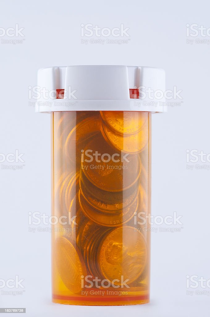 Affordable Medicine royalty-free stock photo