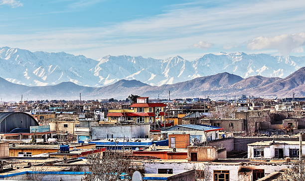 afghan vilage kabul city suburb Afghanistan stock pictures, royalty-free photos & images