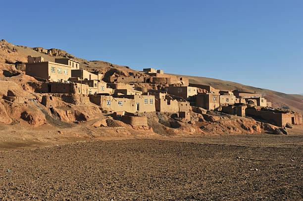 Afghanistan houses stock photo