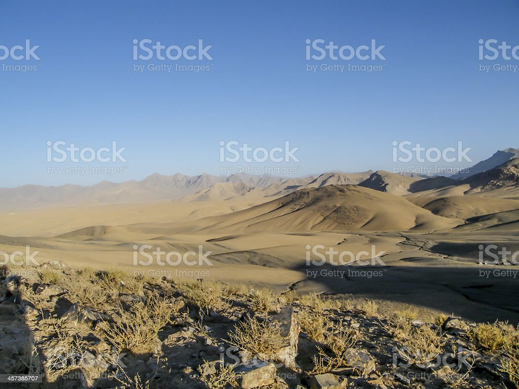 Afghanistan landscape 2 stock photo