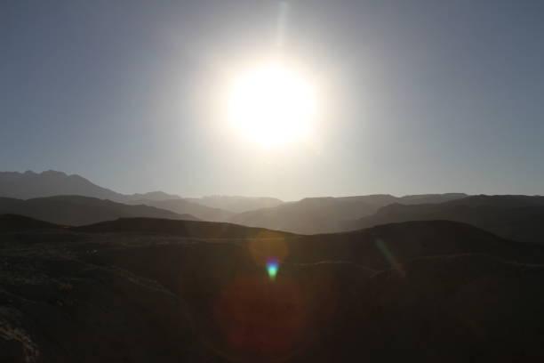 Afghanistan Sun stock photo