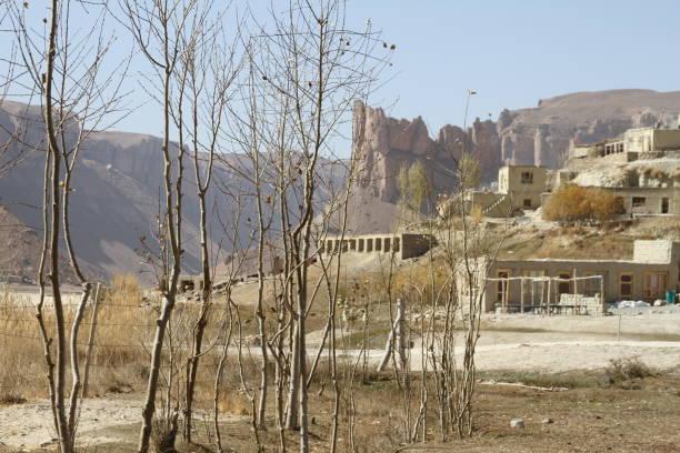 Afghanistan Village stock photo
