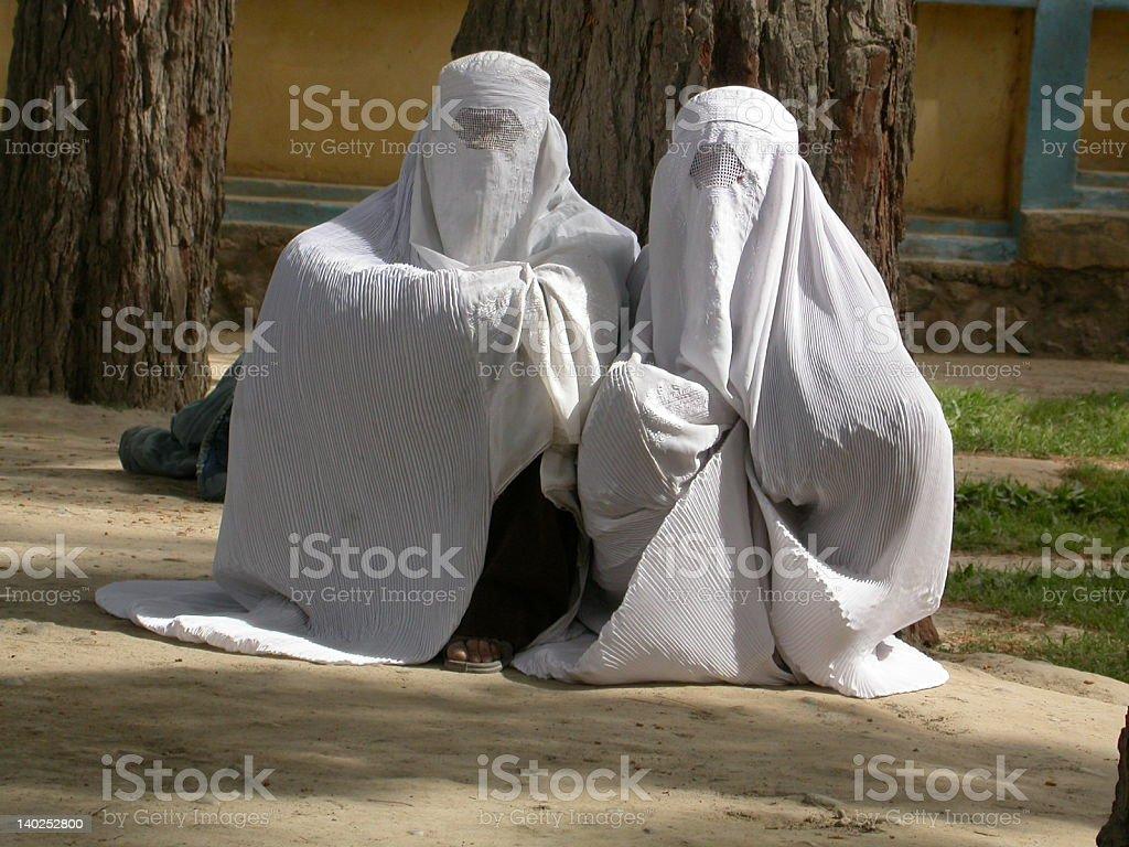 Afghanistan, Frauen warten – Foto