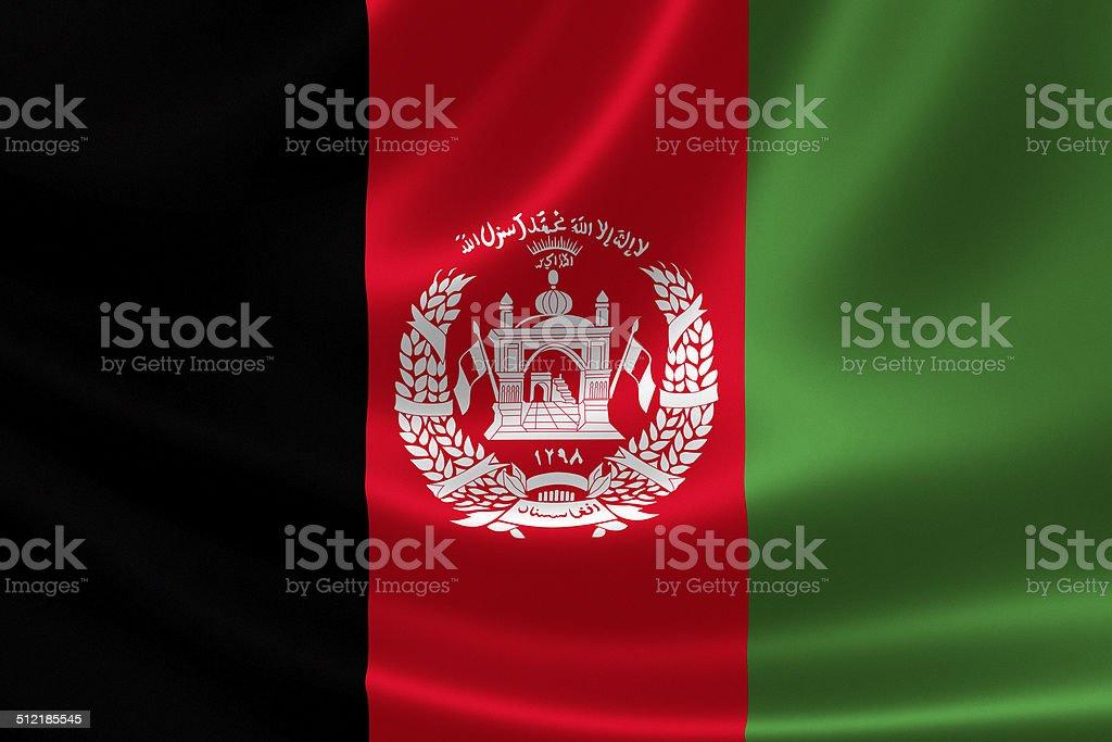 Afghanistan's Flag stock photo