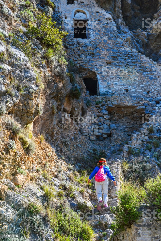 Afkule is the old monastery in Fethiye. photo libre de droits