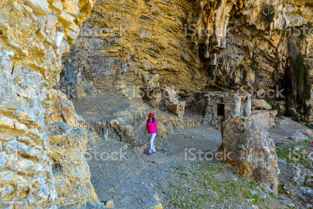 Afkule is the old monastery in Fethiye. royalty-free stock photo