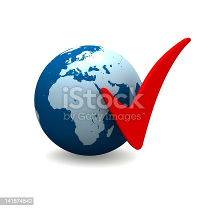 186019678istockphoto Africa and Europe with Check Marks 141574542
