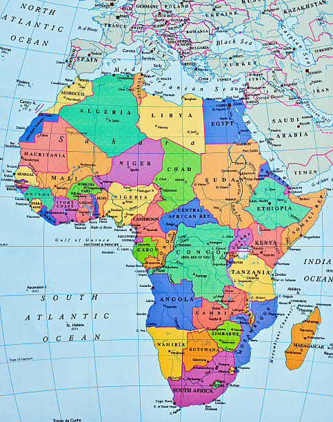 Royalty Free Africa Map Pictures Images And Stock Photos IStock - Africa map