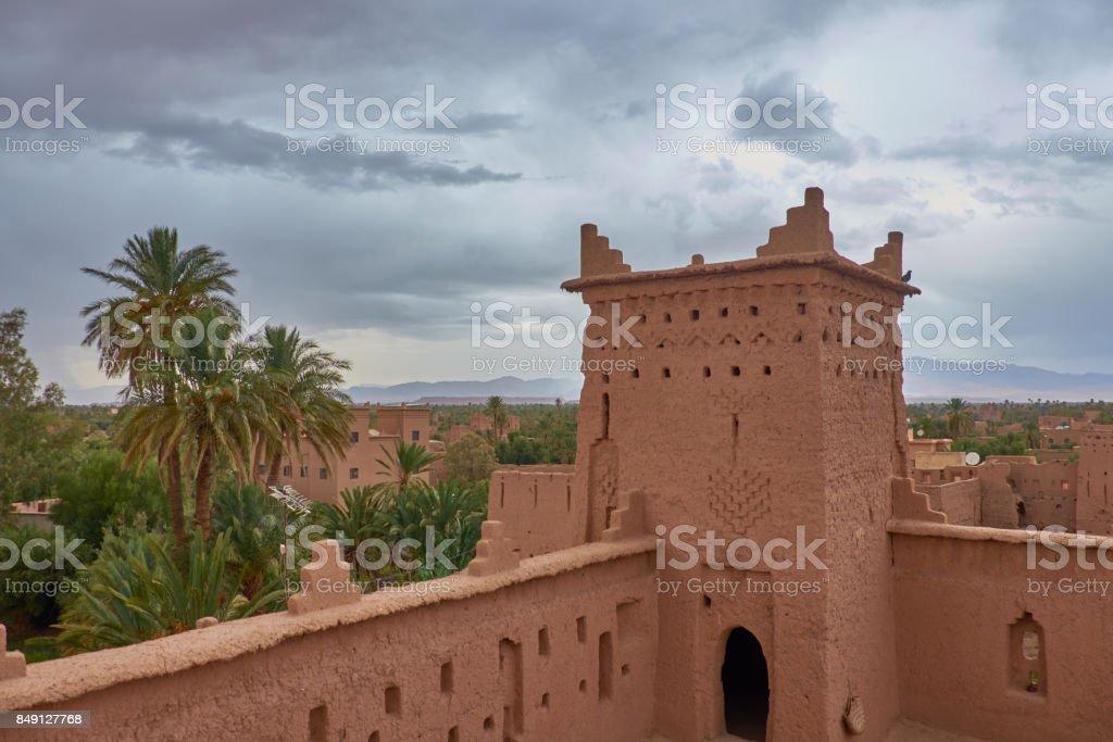 Africa, Morocco Kashba Amridil near Ouarzazate stock photo