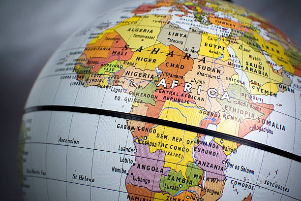 Africa, politcal  equator stock pictures, royalty-free photos & images