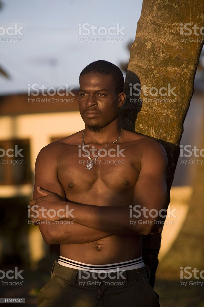 Africa Sunshine stock photo