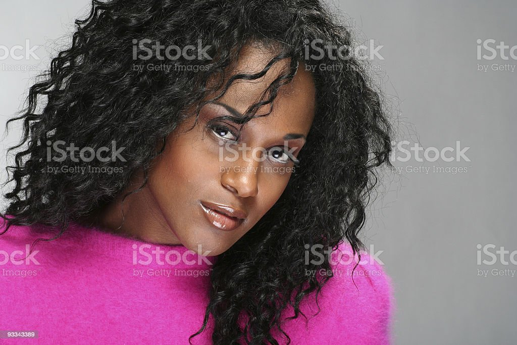 african american beauty royalty-free stock photo