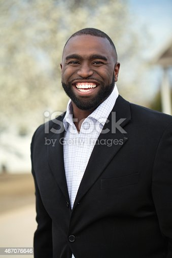 825083248istockphoto African American Business Man Smiling 467076646