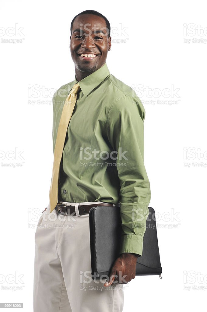 African American businessman royalty-free stock photo