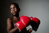 Child Boxer