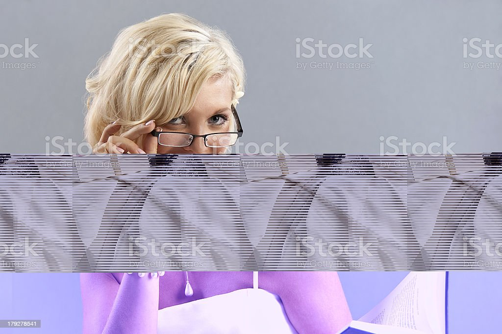 African American Ethnic Woman is Very Surpised royalty-free stock photo