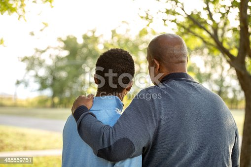 istock African American Father and Son 485559751