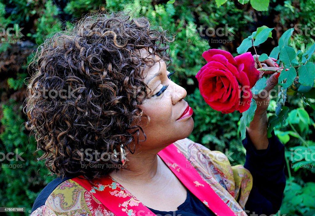 African american female. stock photo