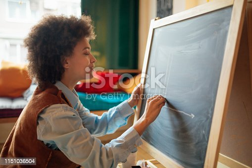 635680384 istock photo African American female student 1151036504