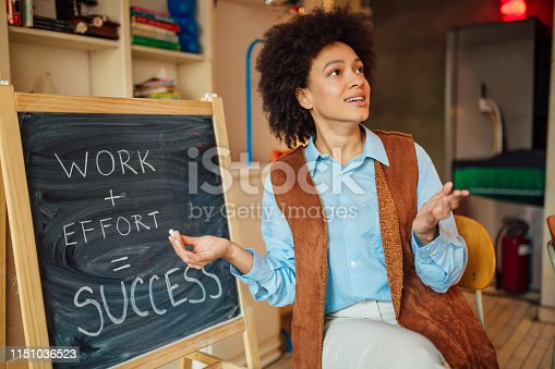 635680384 istock photo African American female student 1151036523