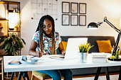 istock African American graduate student studying from home during covid-19 pandemic 1300821206