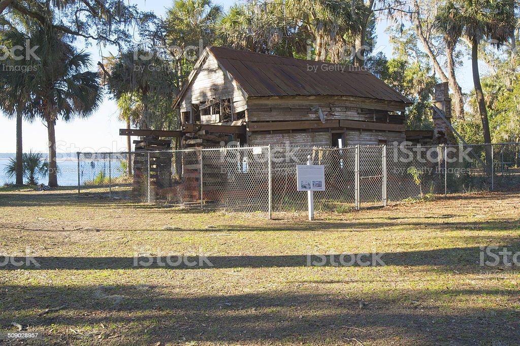 African American, Gullah Geechee Garvin House Near Hilton Head stock photo