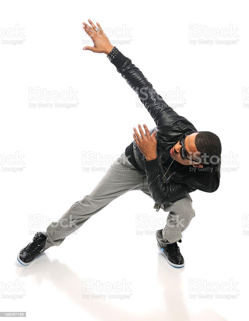 African American Hip Hop Dancer stock photo