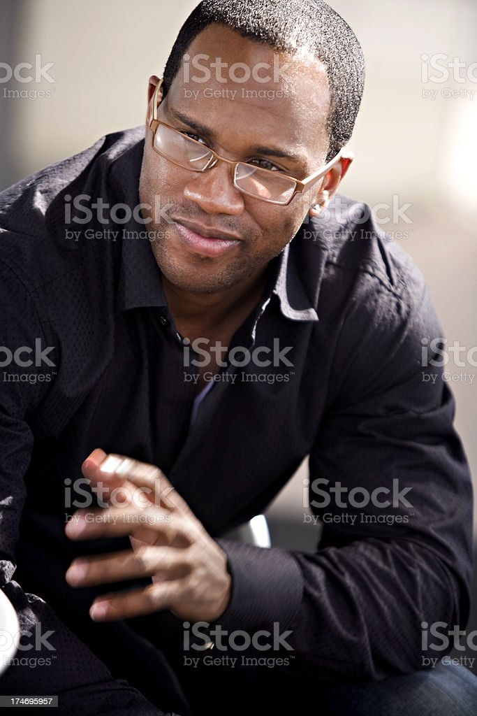 African American Male royalty-free stock photo