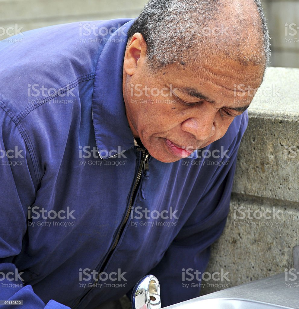 African american male. stock photo